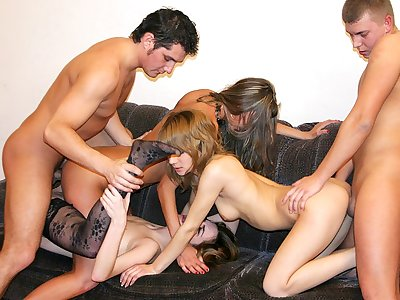 Badass academy chicks drag inflate fat cocks handy hot pack